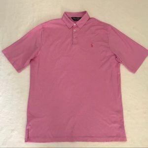 Polo Golf Ralph Lauren Polo Shirt L Pink Pima
